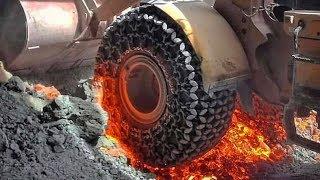 Fire Tire - 10 Unbelievable Tire Designs