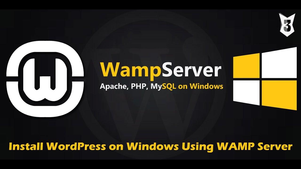 How to Install WordPress on Windows Using WampServer ( WAMP )