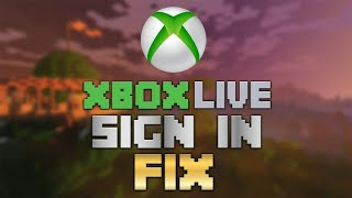MCPE 1.6/1.5 XBOX LIVE SIGN IN FIX!!! (Tutorial)