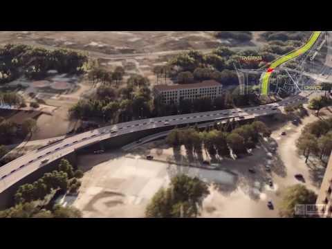 Yerevan Western Ring Road Project 3D Animation FULL HD 2016 O.H DESIGN By Hayk Ohanyan