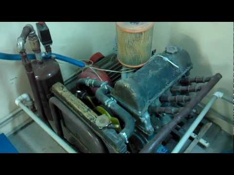 Как сделать компрессор из двигателя ваз.