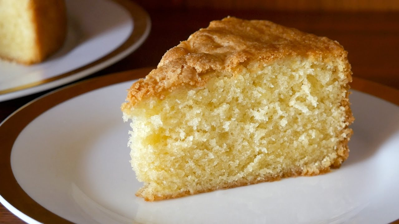 Soft Fluffy Butter Cake Recipe