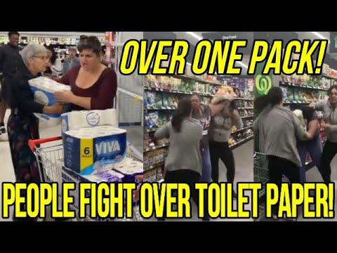 People Fight Over Toilet Paper (Charged With Affray)