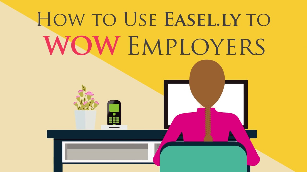 VIDEO: How to Use Easelly Resume Templates to WOW Employers
