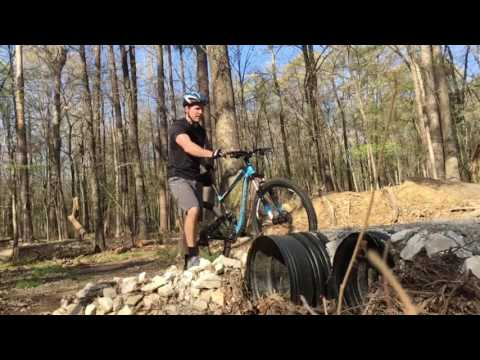 Mountain Bike Jump At Herb Parsons Lake Collierville Tn