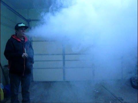 Cold Weather Garage Vaping with VapeOholic's PeaceMan eJuice
