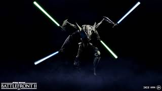 Star Wars Battlefront 2 Grievous Intro and Outro Music