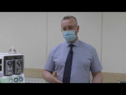 Компания «ФОРЭС» передала Городской больнице Асбеста новый многофункциональный аппарат ИВЛ