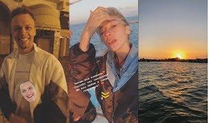 Настя Ивлеева на съёмках Орёл и Решка