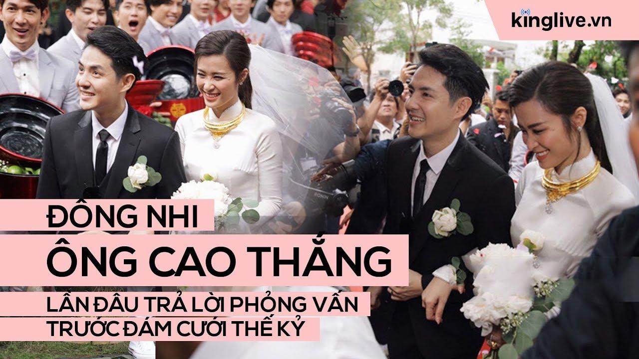 Cô dâu Đông Nhi và chú rể Ông Cao Thắng lần đâu trả lời phỏng vấn trước đám cưới thế kỷ
