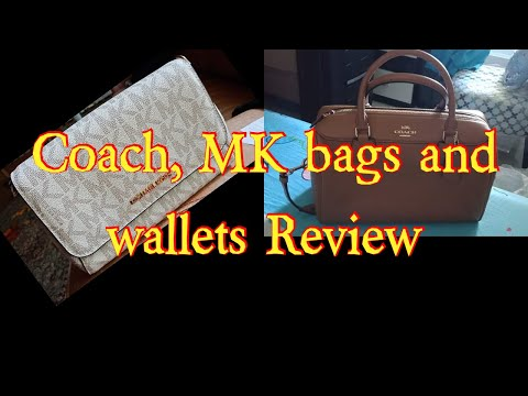 Coack, MK Bags and Wallets Reviews