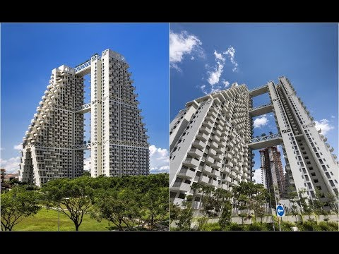 Sky Habitat Singapore | Safdie Architects | Bishan, Singapore | HD