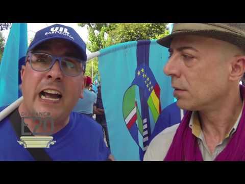 Sciopero generale Uil a Sassari - video Stefano Di Franco