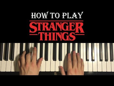 Stranger Things - Main Theme (Piano Tutorial Lesson)