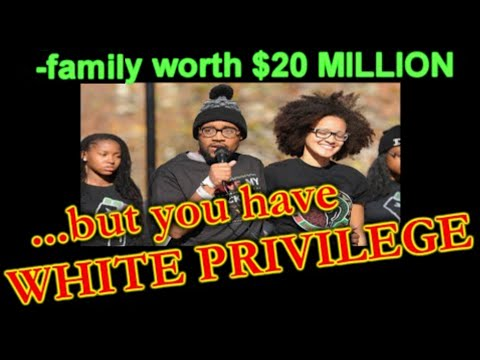 Black Son of a MULTIMILLIONAIRE,STILL the SJW victim!