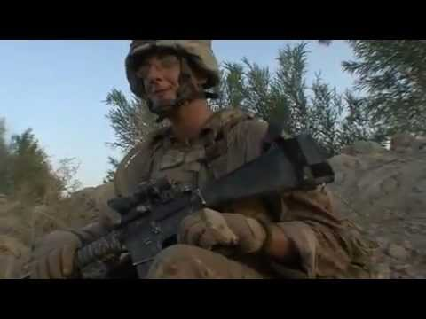 Special Force & US Marines fighting in Helmand Province