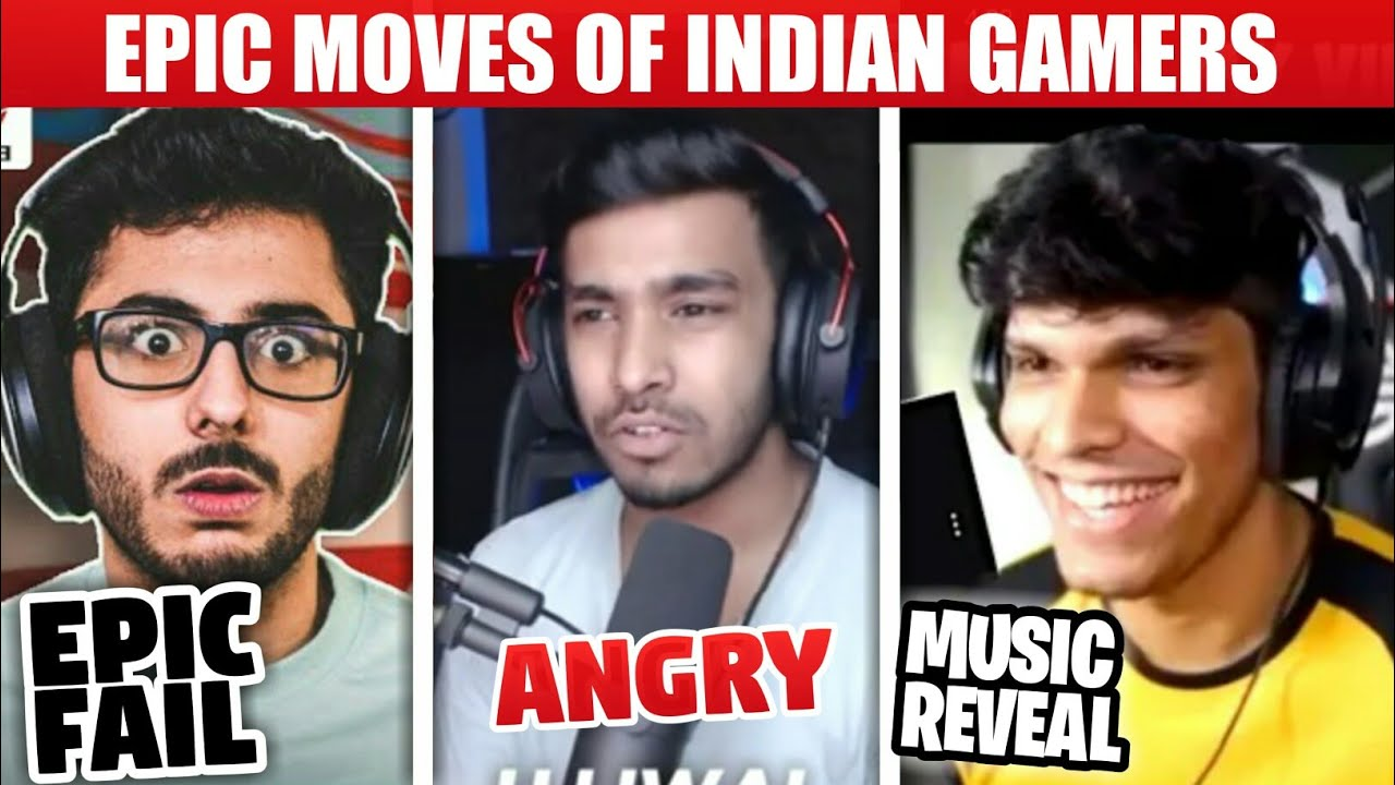 Epic Moments Of Indian Gamers | Techno Gamerz, Mythpat, Carryislive | Battle Factaor