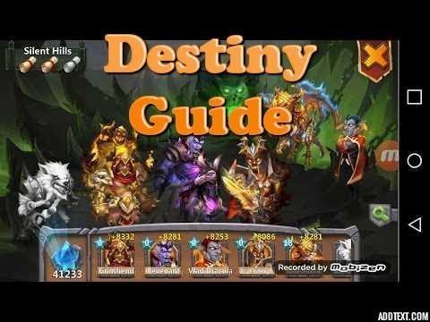 Castle Clash Destiny Guide