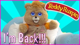 TOY FREAKS REJOICE! TEDDY RUXPIN IS BACK! SURPRISE REVEAL