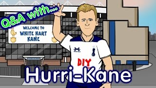 Harry Kane Q&A! (Parody Man City vs Tottenham 2017 Preview)