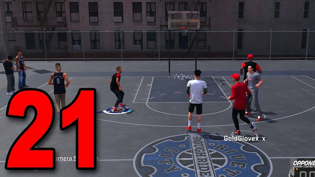 NBA 2K18 My Player Career - Part 21 - First Game at The Park! - YouTube
