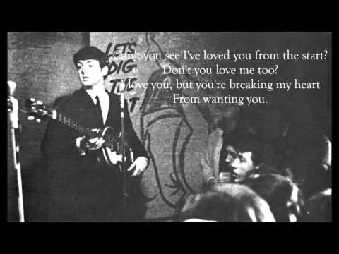 The Beatles ~ One And One Is Two | Paul McCartney's Demo | ( Lyrics )