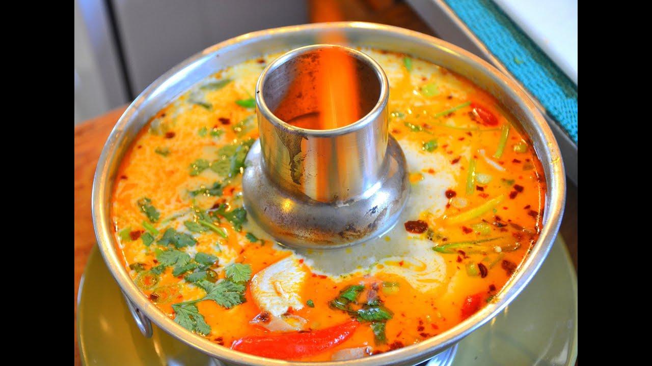 how to make vegetarian thai tom yum soup