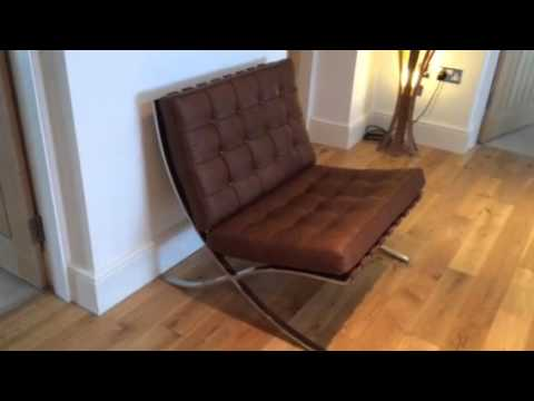 our stunning bamberg barcelona chair iconic interiors uk youtube