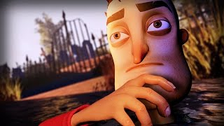 ARE THESE THE NEIGHBOR'S VICTIMS? || Hello Neighbor UPDATE (Outside Map Exploration)