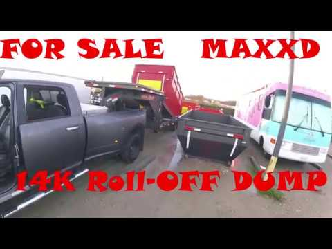 2017 MAXXD 14k Roll Off Dump For Sale