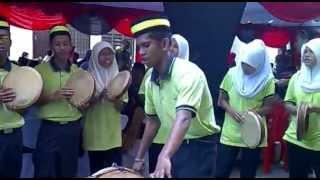 Kompang Sri Anggerik Senawang, Lagu Chek Mek Molek, Majlis Kawin Di Nilai Perdana