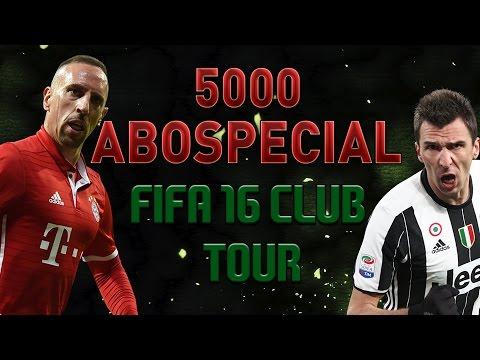 5000 Abo Special Danke !!! Fifa 16 Club Tour