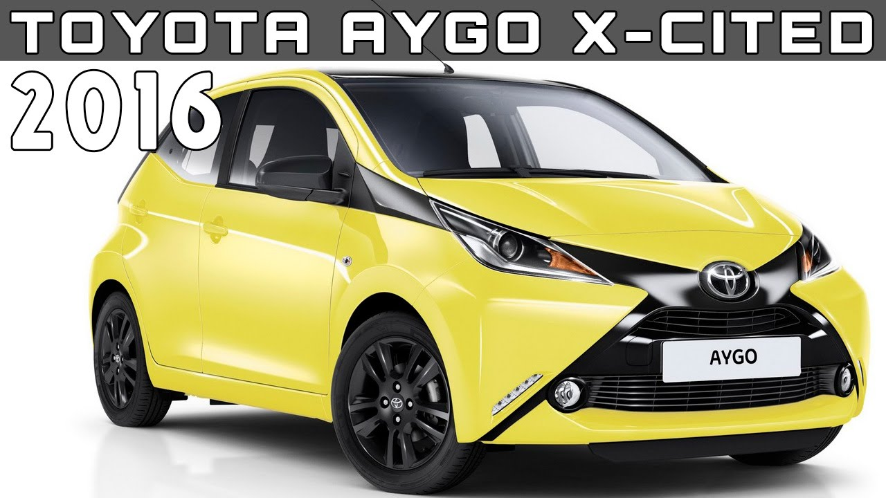 2016 toyota aygo x cited review rendered price specs release date youtube. Black Bedroom Furniture Sets. Home Design Ideas