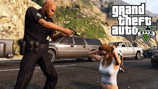 GTA 5 Mods - ARRESTING SLUTS & GIVING TICKETS! LSPDFR MOD SHOWCASE! (GTA 5 Mods)