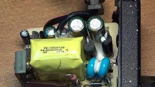 Коммутатор D-Link DES-1018DG ремонт блока питания JTA0302F-E