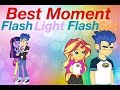 All Flash x Twilight and Flash x Sunset Moments-Equestria Girls