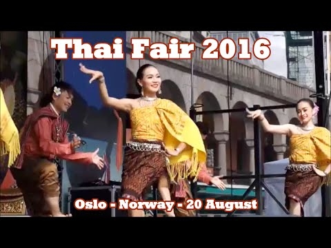 Thai Fair 2016 Oslo Norway