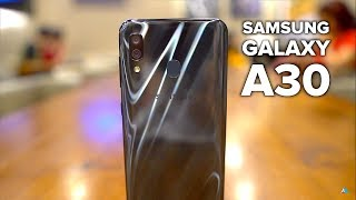 Samsung Galaxy A30 REVIEW and UNBOXING [CAMERA, GAMING, BENCHMARKS]