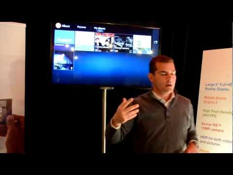 Sony Xperia Z - NFC Wi-Fi Demonstration [French]