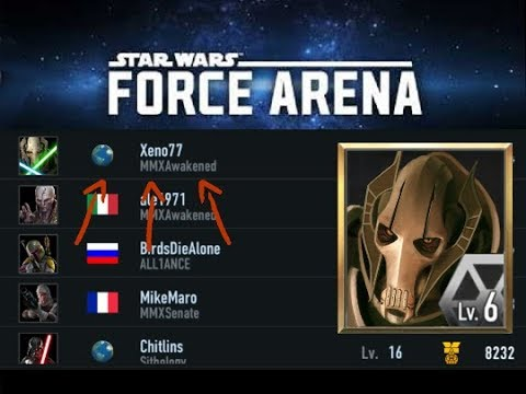Separatist Alliance Droid Army #1 Ranked Level 6 General