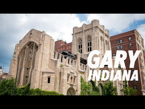 Abandoned City Methodist Church (Gary, IN Urban Exploration)