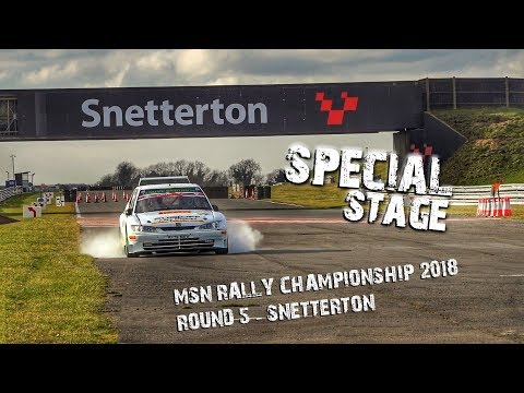 MSN Rally Championship 2017/18 - Round 5 Snetterton