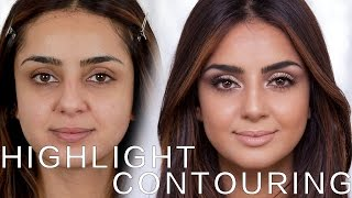 Highlight und Contouring | Cream Version mit TamTam Beauty | Hatice Schmidt