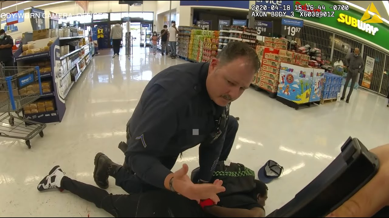 White Police Officer Arrested For Manslaughter After Killing Black Man In Walmart