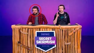 Dr Lupo Roasts CourageJD In Front Of 100,000 Viewers! (Fortnite Secret Skirmish)