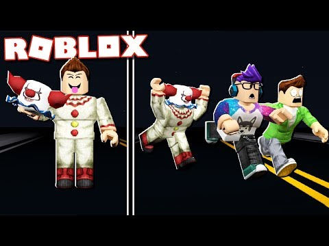 """BE THE """"IT"""" CLOWN AND SCARE IN ROBLOX!"""