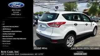Used 2014 Ford Escape   Rite Cars, Inc, Lindenhurst, NY