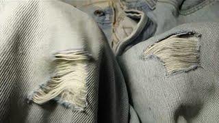 dIY.Как сделать дырки на джинсах правильно.,How to make holes on jeans correctly