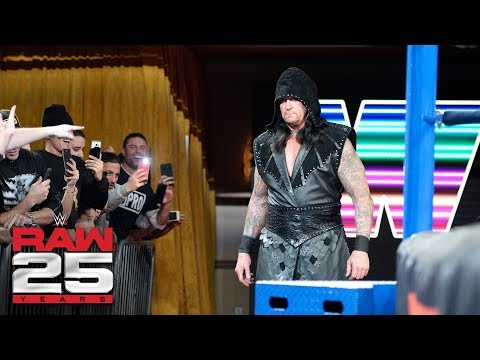 The Undertaker returns: Raw 25 the undertaker
