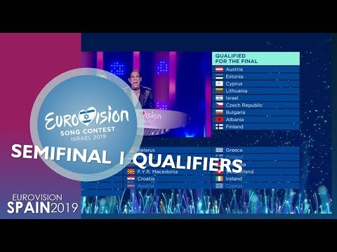 EUROVISION 2019 | SEMIFINAL 1 QUALIFIERS (PREDICTION)